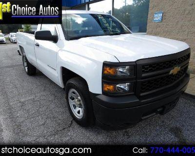 """Used 2015 Chevrolet Silverado 1500 2WD Reg Cab 133.0"""" Work Truck"""