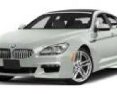 2015 BMW 6 Series 650i