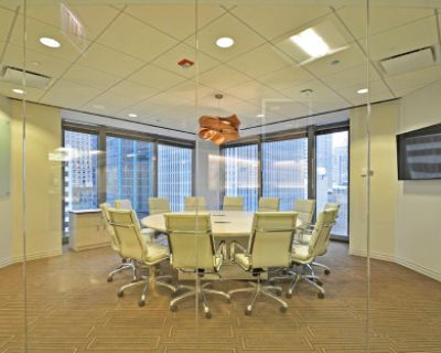 Loop Meeting Room with City View For Up to 6 people (socially distanced), Chicago, IL