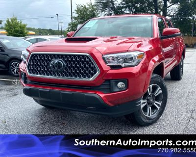 2018 Toyota Tacoma TRD Sport Double Cab 5' Bed V6 4x2 AT (Natl)
