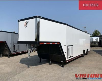 2022 inTech 38' Aluminum Gooseneck Race Trailer - Wide Body