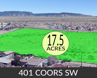 Vacant Commercial Land Albuquerque 17.5 Acres