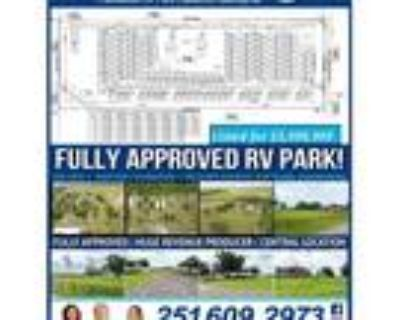 Fully-Approved RV Development For Sale! 102 Lots - for Sale in Foley, AL