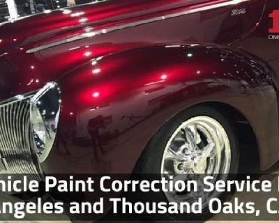 Vehicle Paint Correction Service Los Angeles and Thousand Oaks, CA