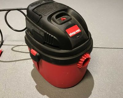 Small wet/dry shop-vac