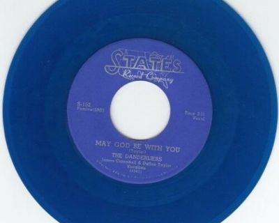 DANDERLIERS ~ May God Be With You*Mint-45*RARE BLUE WAX !