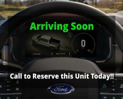 New 2021 Ford Ranger LARIAT RWD Crew Cab Pickup