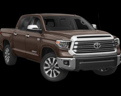 New 2021 Toyota Tundra Limited CrewMax 5.5' Bed 5.7L (Natl) - In-Stock