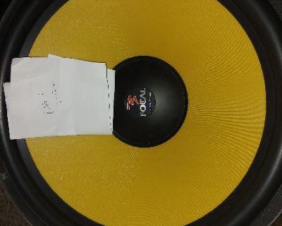 Focal 46KX4, Mundorf AMT's, AE SBP15-4a, iBasso Dap