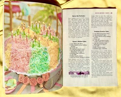 Good Housekeeping's Cake Book ('58) (Mail It? Paypal it! Click Link)