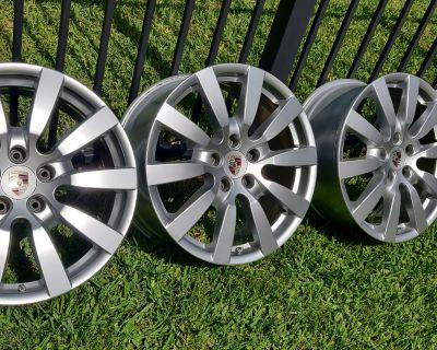 """Cayenne 20"""" 9jx20 ET 57 Wheel Rim 7P5601025B"""