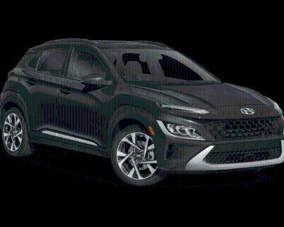 New 2022 Hyundai Kona Limited Front Wheel Drive SUV