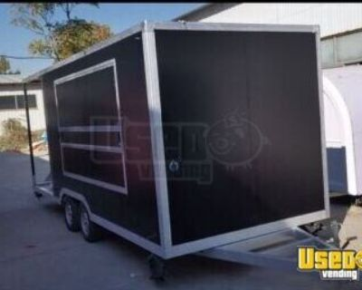 Barely Used Mobile Kitchen Food Trailer/Mobile Food Unit with Porch