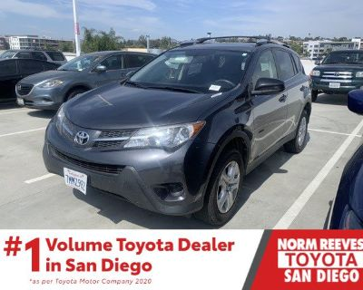 Pre-Owned 2015 Toyota RAV4 LE FWD 4D Sport Utility