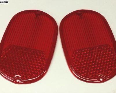 New Bus Tail Light Lenses - Pair