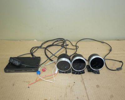 Jdm Subaru Wrx Sti Defi Link Advance System Turbo Triple Gauges Controller,