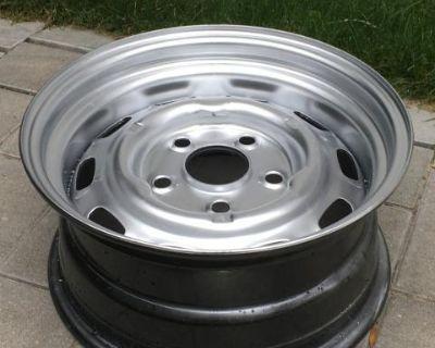 New Reproduction Steel Porsche Wheels! 15x6.0