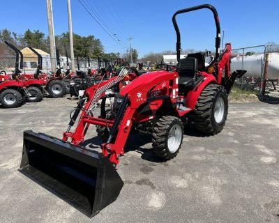 2020 T264 TYM Hydrostatic Tractor w/ Loader / Industrial Tires / Backhoe