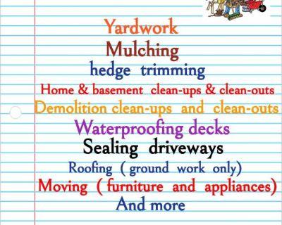 Do you need a handyman