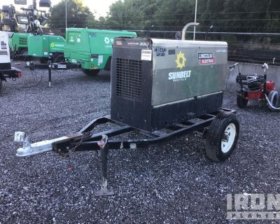 Lincoln Electric Vantage 300 Mobile Engine Driven Welder