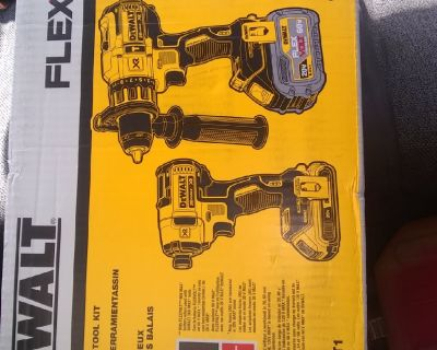 DeWalt drill ,with impact driver