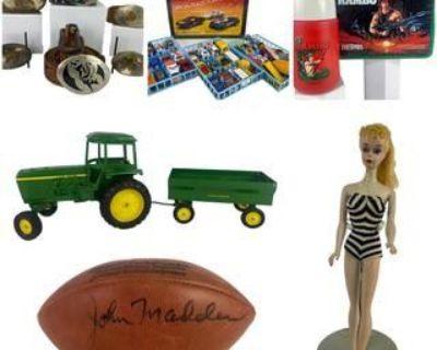 VINTAGE BARBIES TOYS & COLLECTIBLE AUCTION
