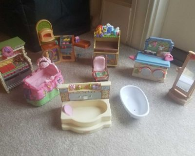 Fisher price doll house furniture