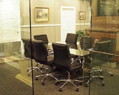 Private Meeting Room for 8 at Downtown Tower Executive Office Suites