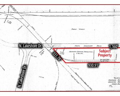 5015 North Lakeshore Drive Vacant Land for Sale with Rail Spur