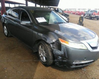 Salvage Gray 2009 Acura Tl