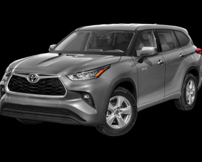 New 2021 Toyota Highlander Hybrid LE Fwd 5 door Front Wheel Drive