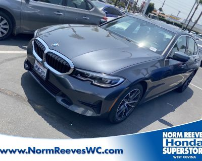 Pre-Owned 2020 BMW 3 Series RWD 4dr Car