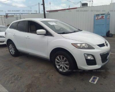 Salvage White 2011 Mazda Cx-7