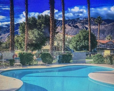Incomparable views from the Mountains at this Beautiful Condo in Palm Springs! - Palm Springs