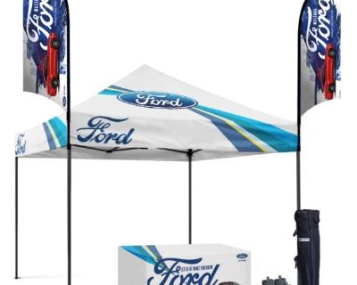 Pop Up Canopy Tent With Full Graphics Design