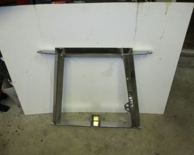 Fischer 7.5-8ft Plow Frame Upright *polished Stainless Steel* Great Cond!