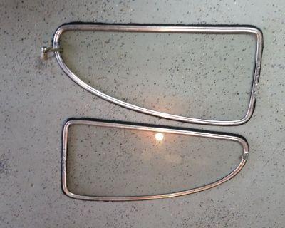 VW RARE Volkswagen Beetle Pop Out Windows 1950-1964 1/4 GLASS PAIR WINDOWS OEM