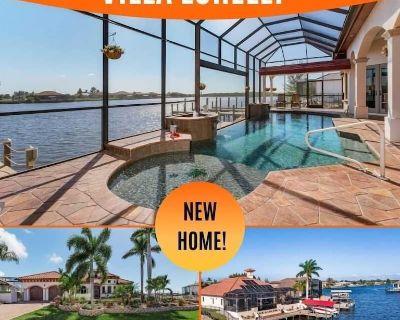 28% OFF! SWFL Rentals - Villa Lorelei - Exquisite Direct Gulf Access Solar Heated Pool Home - Burnt Store