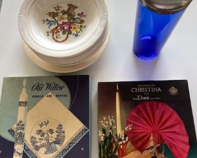 Vintage & Collectibles Estate Sale -Items from Long Time Antique Store Owner-Attention Resellers!