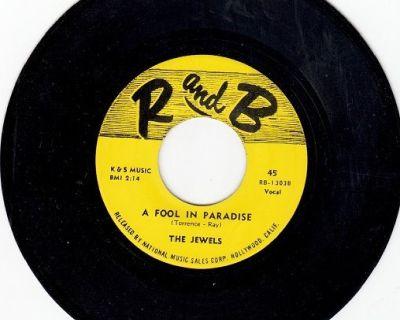 JEWELS ~ A Fool In Paradise*Mint-45 !