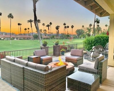 Sweeping Mountain, Golf Course, and Palm Tree Views! Best Views in the Desert!!! - Palm Desert