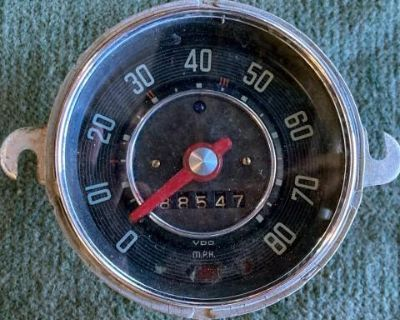 1958 speedometer red needle
