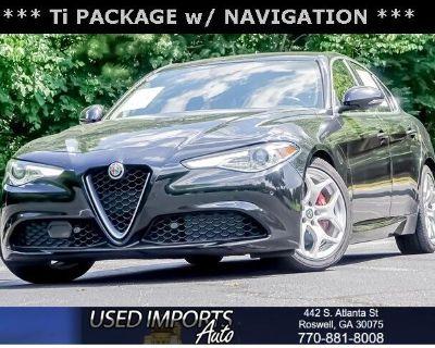 2018 Alfa Romeo Giulia Ti RWD