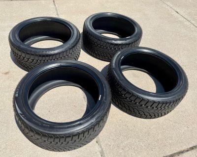 Blizzak LM-32 255/40R19 Winter Snow Tires - PRACTICALLY NEW