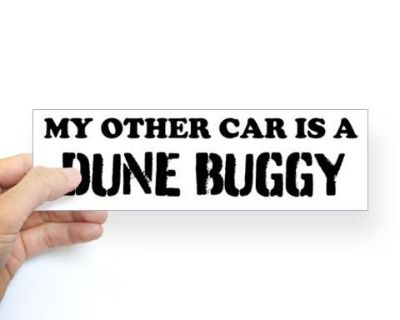 Dune Buggy bumper stickers and more....