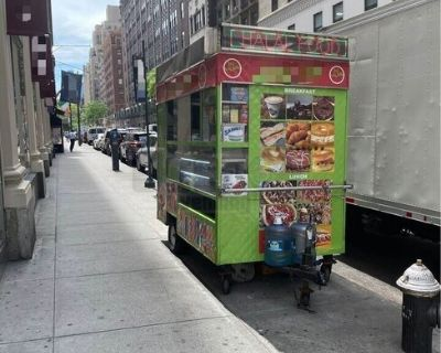 Turnkey Ready Permitted Street Food Concession Trailer with Toyota 4Runner