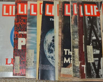 Collectable 16 LIFE Magazines