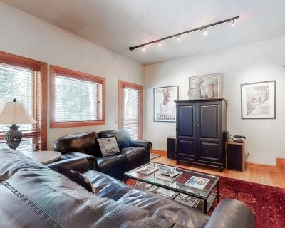 Renovated Creekside Condo w/ Wood Stove & Shared Hot Tub/pool - Steps to Shuttle - Vail