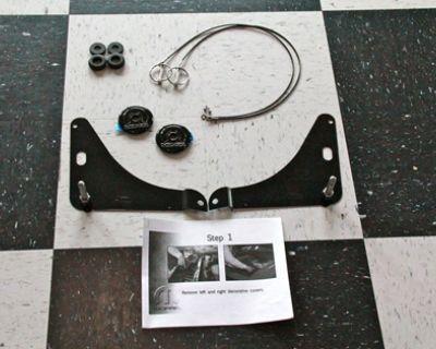 Mopar Black Chrome Hood Pins 2008-2020 Challenger
