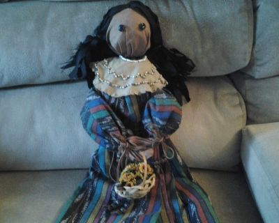 Indian Doll Handmade New! Made by Crafter